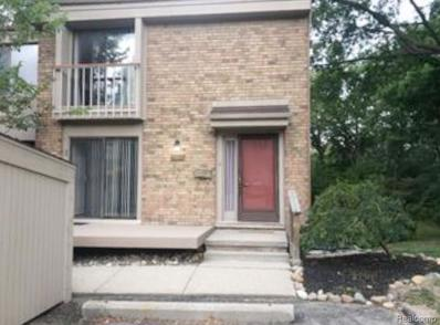 1481 Oakbrook E UNIT Unit#25, Rochester Hills, MI 48307 - MLS#: 30771294