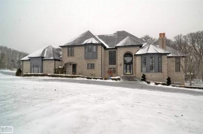 1590 Scenic Hollow Drive, Rochester Hills, MI 48306 - MLS#: 31337012