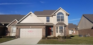 20873 Knobs Hollow Drive UNIT Unit 44, Macomb Twp, MI 48044 - MLS#: 31342137