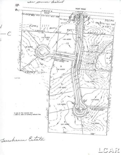 Lot 13 Terrehaven Estates, Adrian, MI 49221 - MLS#: 31343389