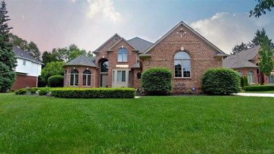 54676 Woodcreek, Shelby Twp, MI 48315 - MLS#: 31348976