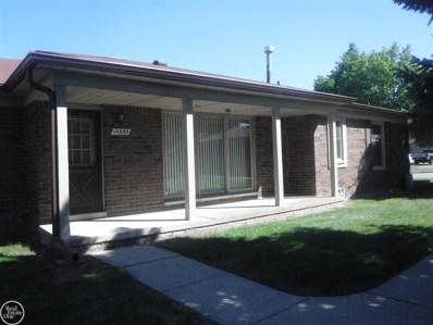 14865 Melrose Court, Shelby Twp, MI 48315 - MLS#: 31352942