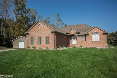2405 Equestrian Dr, East China, MI 48079 - MLS#: 31362422