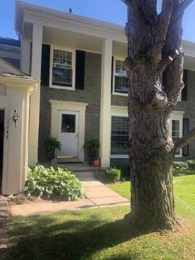 1147 Pine Ridge Court, Rochester Hills, MI 48306 - MLS#: 31396271
