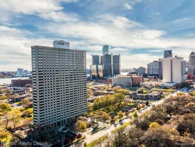 1300 E Lafayette #807, Detroit, MI 48207 - MLS#: 40001569