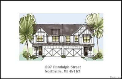597 Randolph St UNIT Unit#1, Northville, MI 48167 - MLS#: 40012284