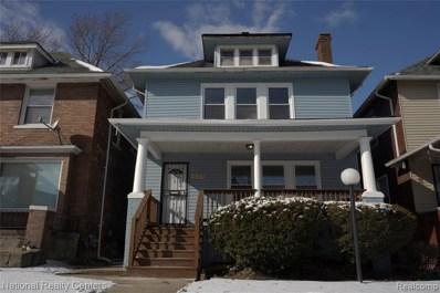 637 Alger St, Detroit, MI 48202 - MLS#: 40031340