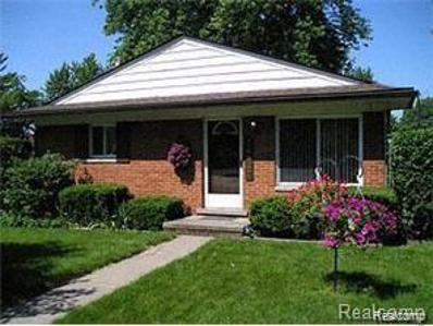 14907 Sunbury St, Livonia, MI 48154 - MLS#: 40032191