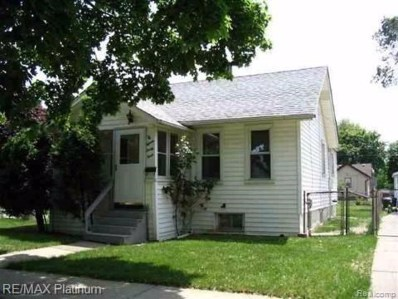 1533 College Ave, Lincoln Park, MI 48146 - MLS#: 40042445