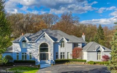 7515 Hiddenbrook Ln, Bloomfield Hills, MI 48301 - MLS#: 40048011