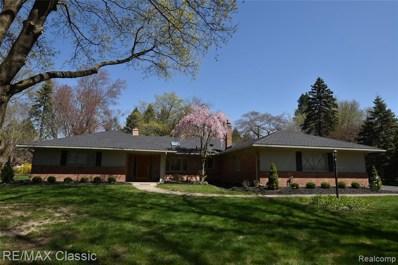 4860 Wye Oak Rd, Bloomfield Hills, MI 48301 - MLS#: 40048764