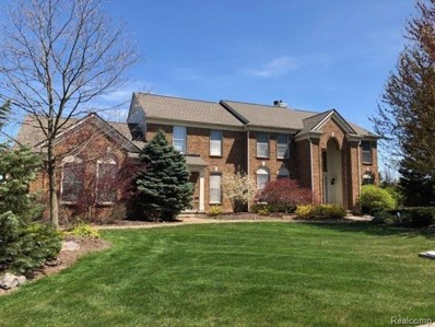9760 Fellows Hill Crt, Plymouth, MI 48170 - MLS#: 40049170