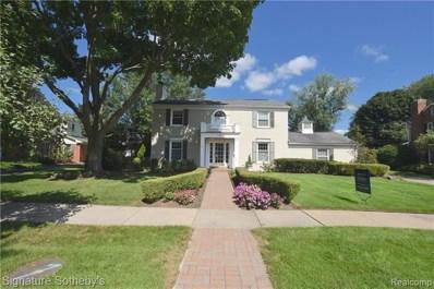 140 Hamilton Rd, Bloomfield Hills, MI 48301 - MLS#: 40049228