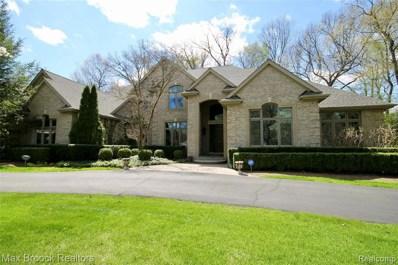 7284 Hiddenbrook Ln, Bloomfield Hills, MI 48301 - MLS#: 40049251