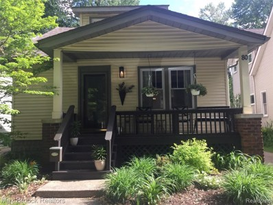80 Wellesley Dr, Pleasant Ridge, MI 48069 - MLS#: 40059658