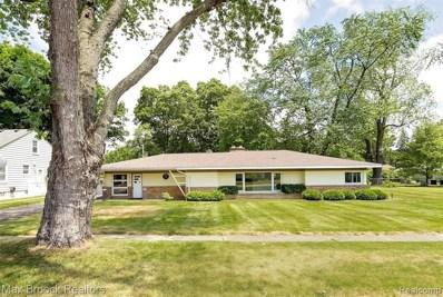 1815 Lakeland Ave, Sylvan Lake, MI 48320 - MLS#: 40070465