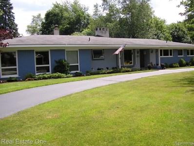1298 Winchcombe Dr S, Bloomfield Hills, MI 48304 - MLS#: 40072427
