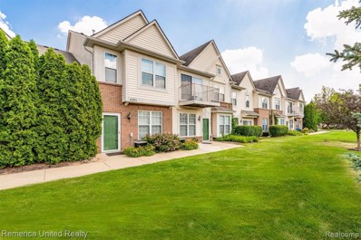 4201 Teal Ln UNIT Unit#32>, Walled Lake, MI 48390 - MLS#: 40076087