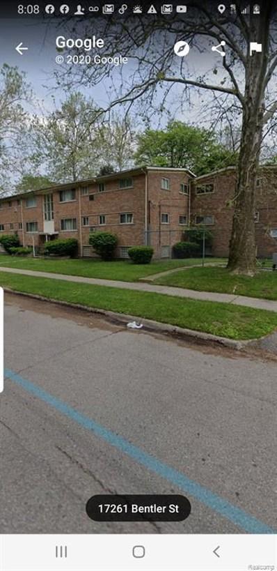 17272 Bentler #36 St, Detroit, MI 48219 - MLS#: 40085136