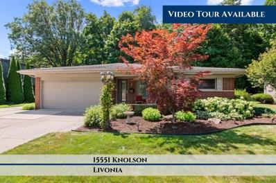 15551 Knolson St, Livonia, MI 48154 - MLS#: 40085305