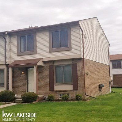 17010 Kingsbrooke Dr, Clinton Township, MI 48038 - MLS#: 50011796