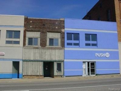 24 W Huron Street, Pontiac, MI 48342 - MLS#: 214018652