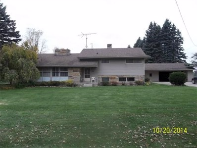 1510 S Lake Pleasant Road, Attica Twp, MI 48412 - MLS#: 214109868