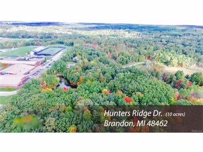 Hunter Ridge Drive, Brandon Twp, MI 48462 - MLS#: 217007902