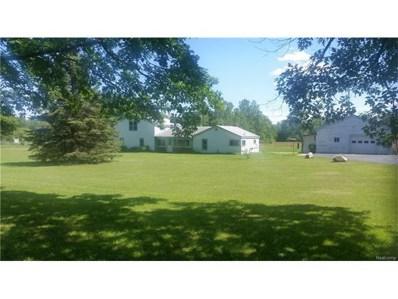 1865 Hummer Lake Road, Oxford Twp, MI 48371 - MLS#: 217058334