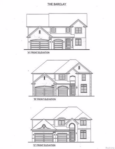 47900 Crichton Lane, Shelby Twp, MI 48317 - MLS#: 217079529