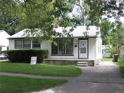 1415 Magnolia Drive, Inkster, MI 48141 - MLS#: 217080405