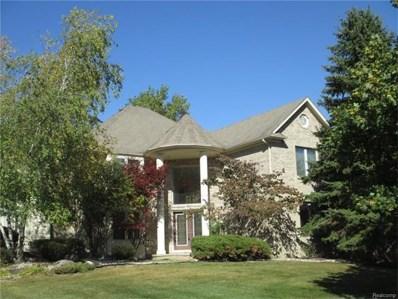 1901 Westridge Drive, Rochester Hills, MI 48306 - MLS#: 217092945