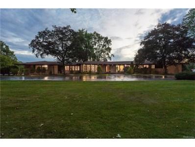 580 E Long Lake Road, Bloomfield Hills, MI 48304 - MLS#: 217095416