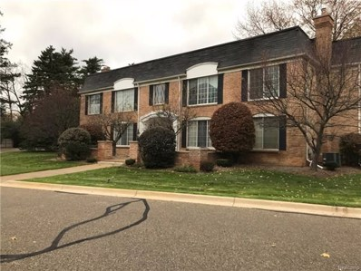 150 E Long Lake Road UNIT 5, Bloomfield Hills, MI 48304 - MLS#: 217101162
