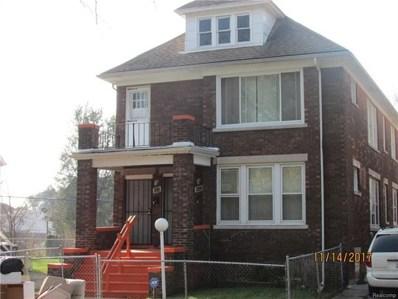 661 Manistique Street, Detroit, MI 48215 - MLS#: 217102378