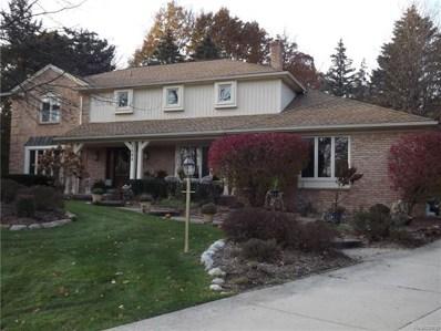 1468 Chestnut Lane, Rochester Hills, MI 48309 - MLS#: 217102622