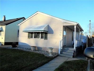 1036 Electric Street, Wyandotte, MI 48192 - MLS#: 217104459