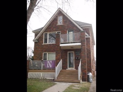 412 E Third Street, Royal Oak, MI 48067 - MLS#: 217107320