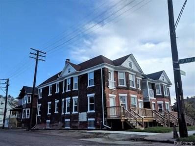 607 E Bethune Street, Detroit, MI 48232 - MLS#: 217108529