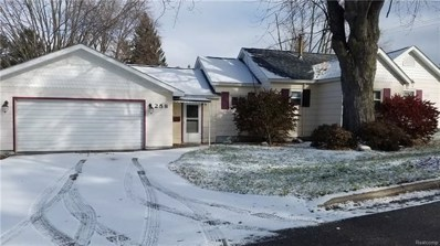 258 Goodrich Street, Vassar, MI 48768 - MLS#: 217110518