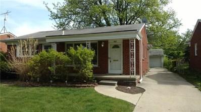 1618 Montrose Avenue, Royal Oak, MI 48073 - MLS#: 218000807
