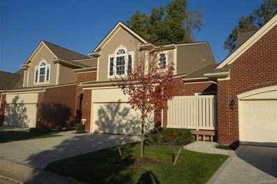 6574 Berry Creek Lane UNIT 47, West Bloomfield Twp, MI 48322 - MLS#: 218001043