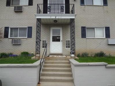 100 W Hickory Grove - F-3 Road UNIT F3, Bloomfield Twp, MI 48304 - MLS#: 218001568