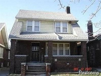 5544 Underwood, Detroit, MI 48204 - MLS#: 218001811