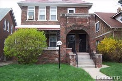 12731 Monica Street, Detroit, MI 48238 - MLS#: 218003959
