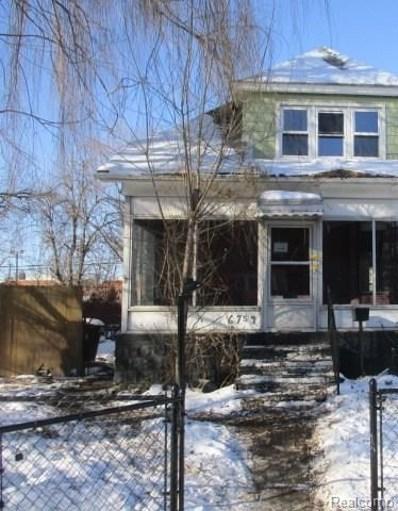 6754 Regular Street, Detroit, MI 48209 - MLS#: 218007952