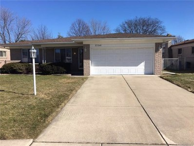 37248 Hacker Drive, Sterling Heights, MI 48310 - MLS#: 218009253
