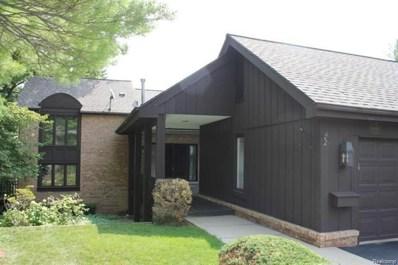 1891 Pine Ridge Lane, Bloomfield Twp, MI 48302 - MLS#: 218010771