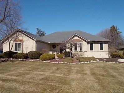 855 Snowmass Drive, Rochester Hills, MI 48309 - MLS#: 218012597