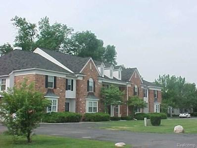 1675 Huntington Park UNIT 4 (D), Rochester Hills, MI 48309 - MLS#: 218014496